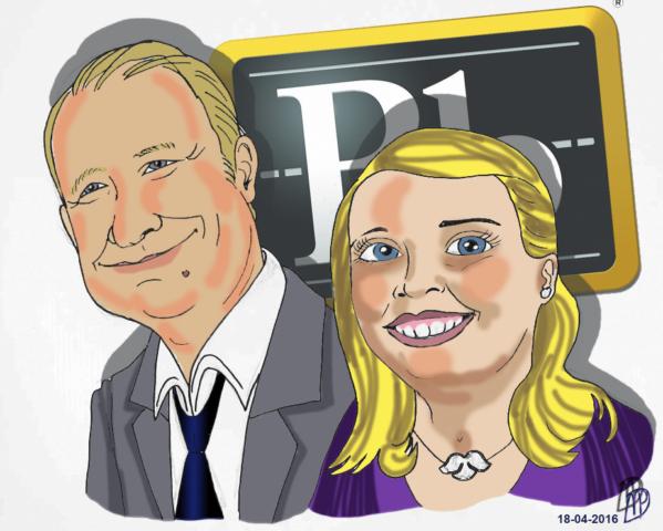 Jeroen Greive en Tamzin Wilkinson Blackboard kleur Rickyfied
