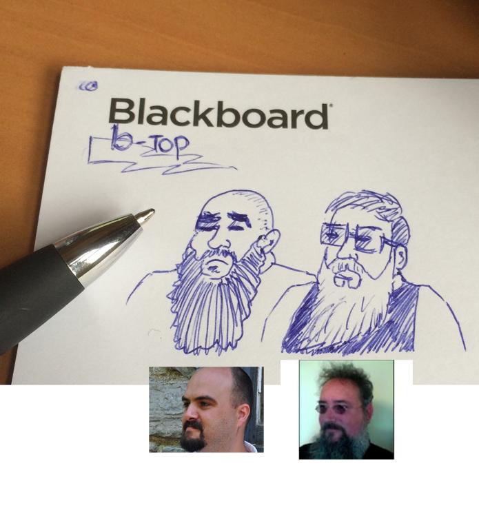 Scott Hurrey Mark O'Neil Blackboard Rickyfied