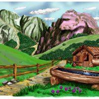 Landschap kleur