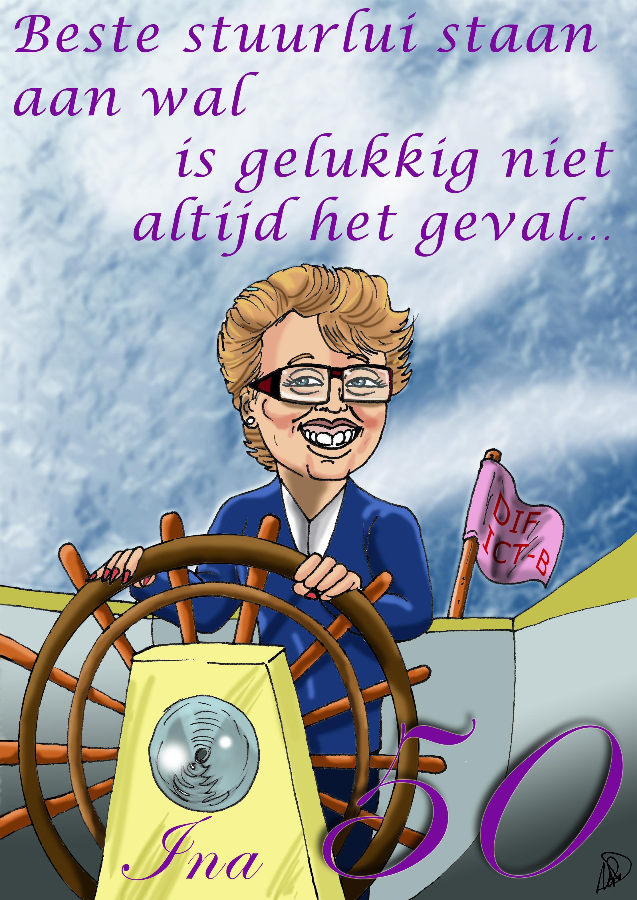 Ina Kluijtmans Avans kleur werk collega Rickyfied
