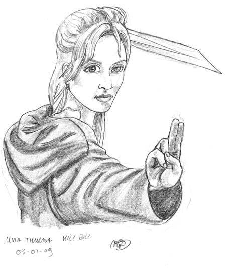 zwaard Uma Thurma
