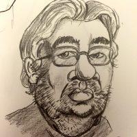 Maarten karikaturen karikatuur