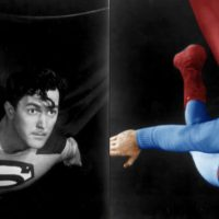 Ingekleurd DC Superman