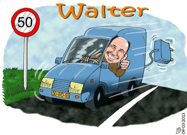 Walter van Damme Avans kleur werk collega Rickyfied