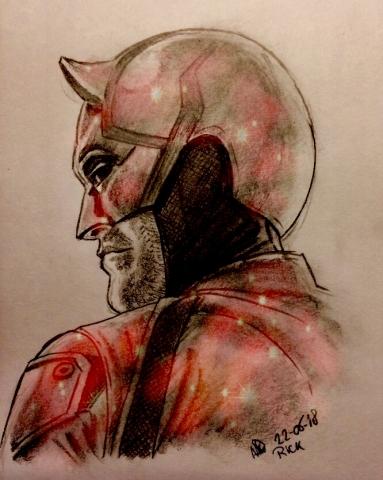 kleur Marvel Daredevil