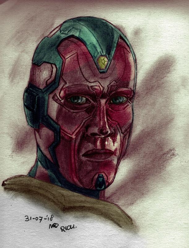 Avengers Vision Superheld sf Marvel