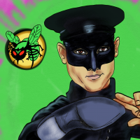 green hornet Bruce Lee kleur