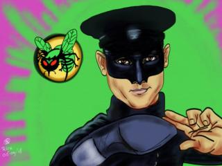 green hornet Bruce Lee kleur