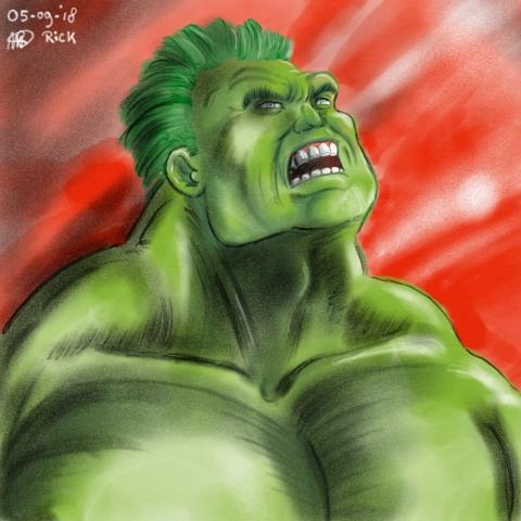 Hulk kleur