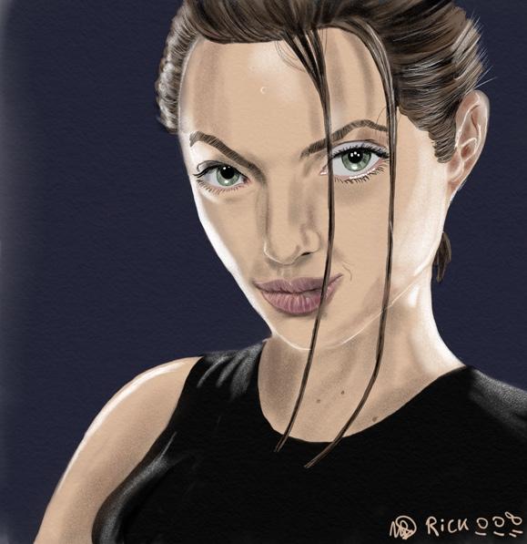 Tom Raider Angelina Jolie