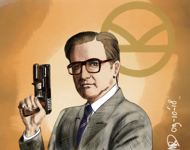 Colin Firth Harry wapen