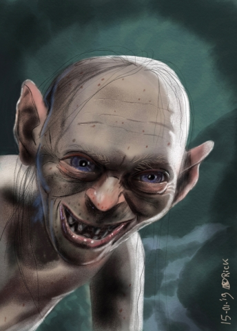 Gollum lord of the rings fantasy