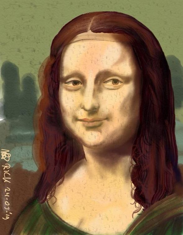 Mona Lisa, Fanart, kunst