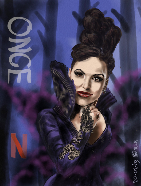 Evil Queen ONCE UPON A TIME Netflix