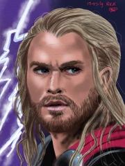 Chris Hemsworth avengers realistisch