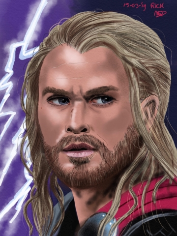 Chris Hemsworth avengers realistisch