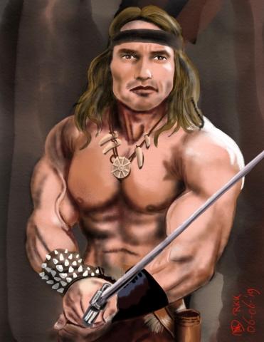 The Barbarian Arnold Schwarzenegger