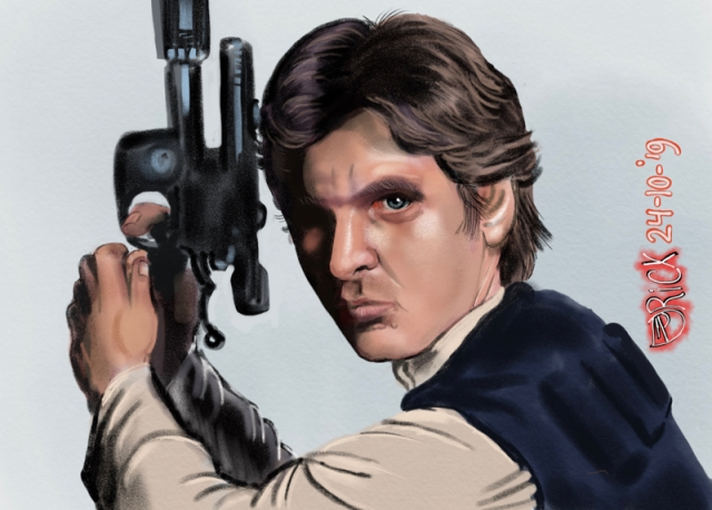 Harrison Ford Star Wars sf sci-fi