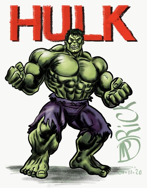 Comic book HULK