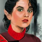 Star Trek: Wrath of Khan realistische tekening