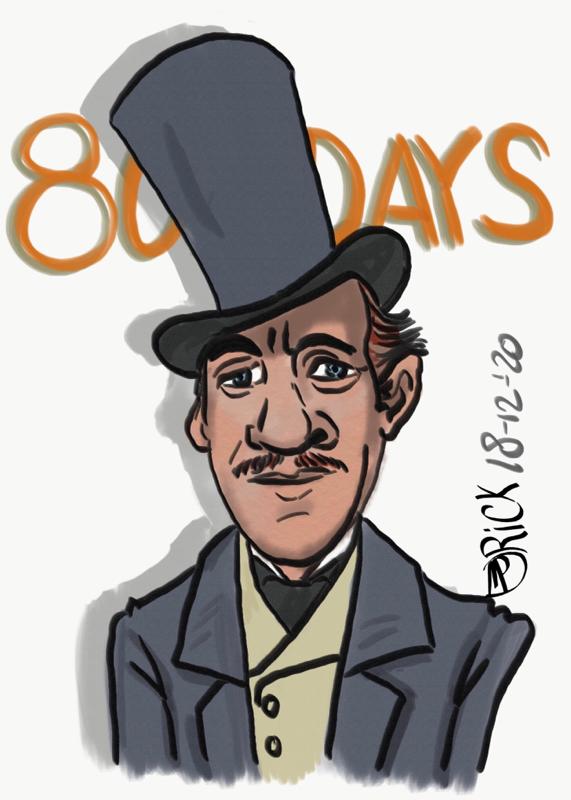 Around the world in 80 days David Niven