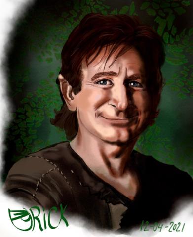 Robin Williams - Peter Pan in 1991's Hook